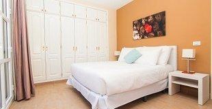 АПАРТАМЕНТЫ С ДВУМЯ СПАЛЬНЯМИ И БАЛКОНОМ (2-4)  Coral Los Silos - Your Natural Accommodation Choice