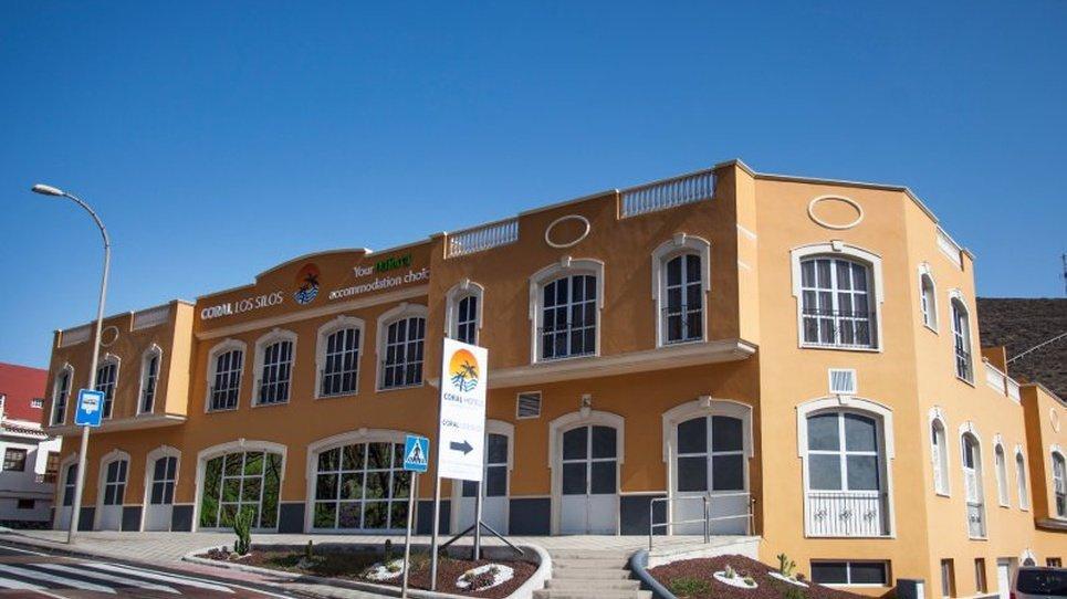 PARADA DE AUTOBUS Отель Coral Los Silos